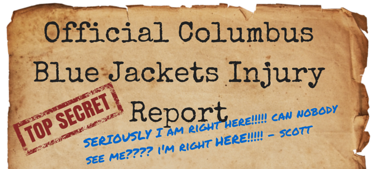 Columbus Blue Jackets Injury Report | What&39s Icing